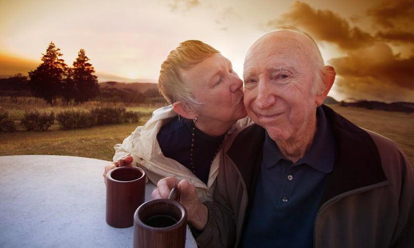 Alzheimer's disease patient